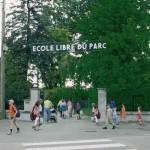 L'entrée de Ecole du Parc